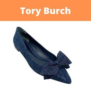 Tory Burch Rosalind Bow Pointy Toe Flats